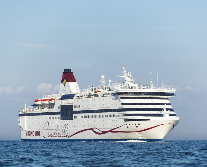 Viking Line ställer in Ålandskryssningar med Viking Cinderella