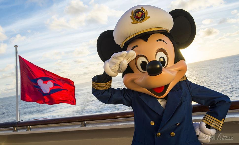 Captain Mickey on the Disney Magic, foto: Disney Cruise Line