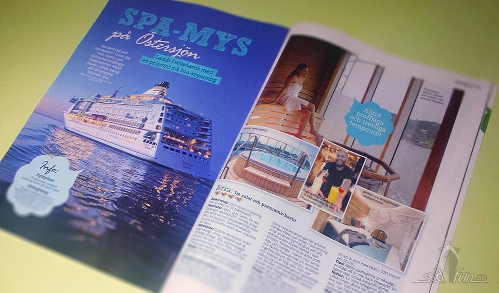 Spamys på Östersjön är temat för min nya guide i Min Hälsa.