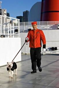 Hundkennel Queen Mary 2, foto Cunard
