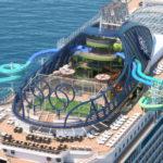 Inbjudna till visningen av nya MSC Seaside