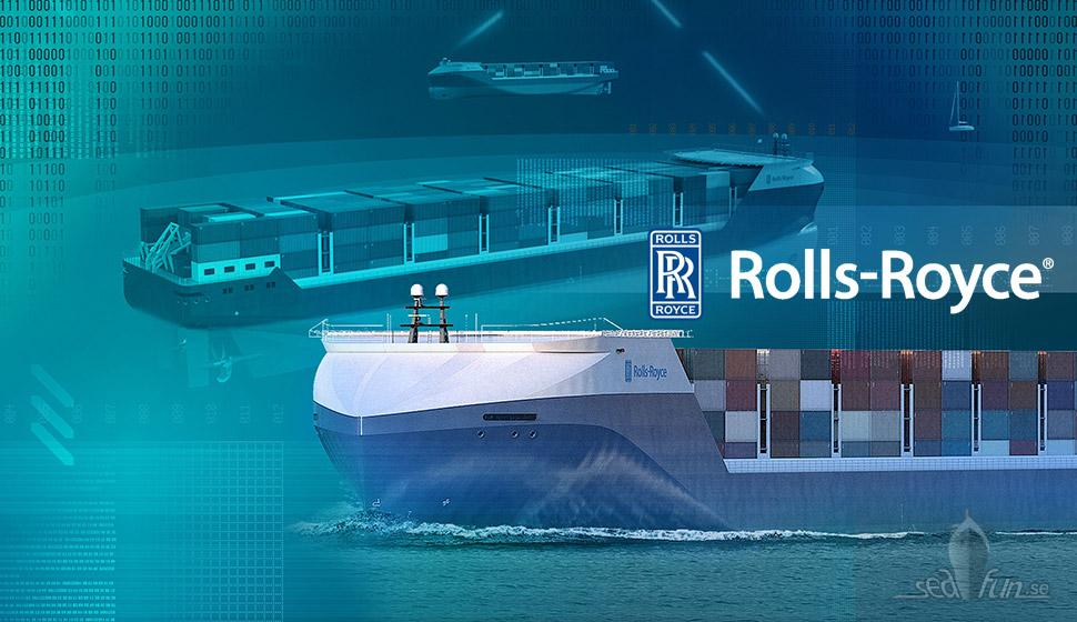 Rolls-Royce ship