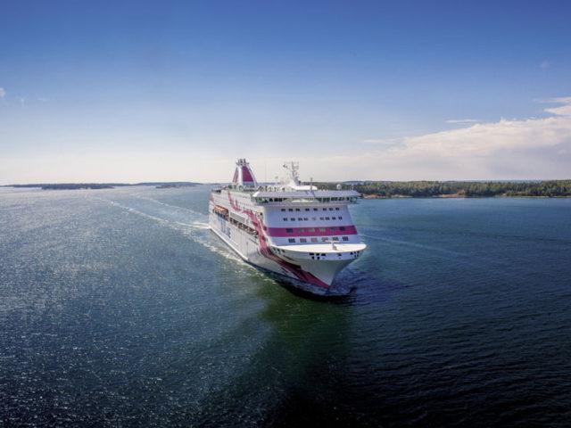 Baltic Princess åter i trafik