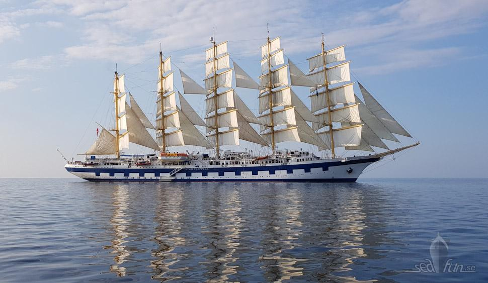 Royal Clipper byggdes 2000. Foto: Kristofer Scheiderbauer