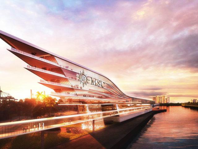 MSC Cruises ska bygga ny terminal i Miami