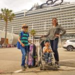 Incheckning med MSC Cruises i Barcelona