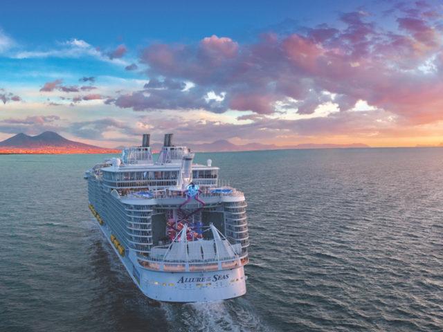 Royal Caribbean förnyar Allure of the Seas för 1,3 miljarder