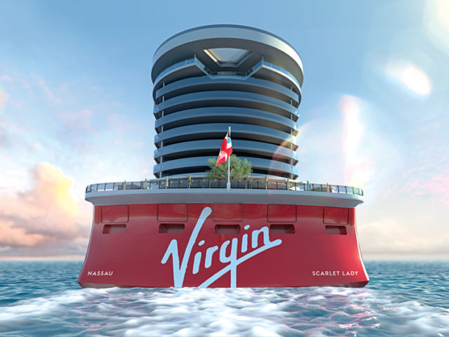Virgin Voyages bygger fartyg med rockig touch