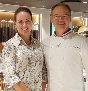 Heidi med Jean-Philippe Maury.