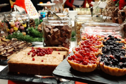 Christmas lunch with Viking Line and test of this year's Christmas table