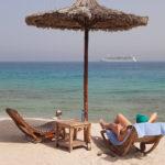 Dag 7 på Jewel of the Seas – Sir Bani Yas, klättervägg och bastu