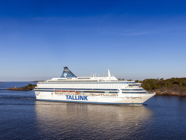 Silja Europe joins the stationary crowd