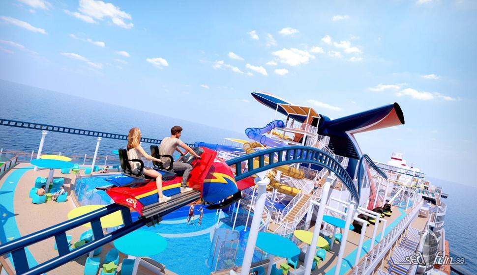 bolt the ultimate sea coaster