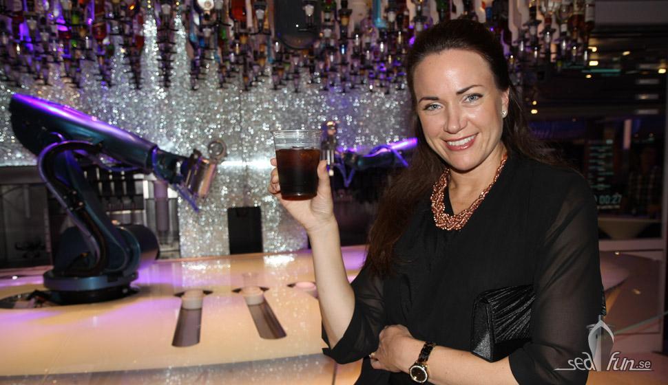 Heidi i Bionic Bar.