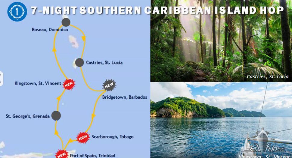 Kryssningsläget veckokryssningar Karibien för RCCL