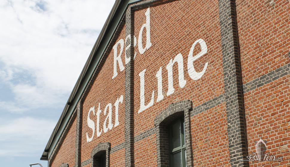 Fasaden till Red Star Line Musuem.