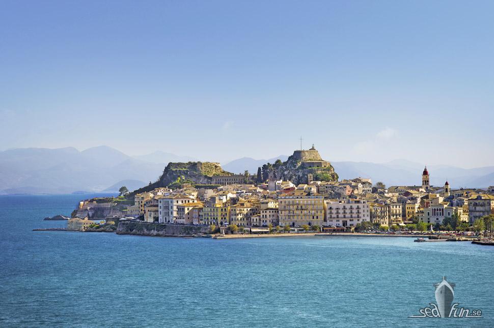 Korfu är en av alla destinationer för MSC Cruises fartyg sommaren 2021.