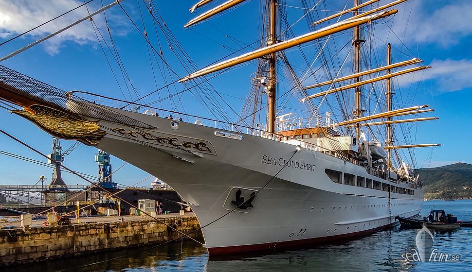 Sea Cloud Spirit är det nyaste fartyget i Sea Cloud Cruises flotta, även det får regionsfokus i det nya sommarprogrammet 2021.